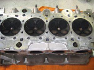 エンジンオーバーホール 燃焼室
